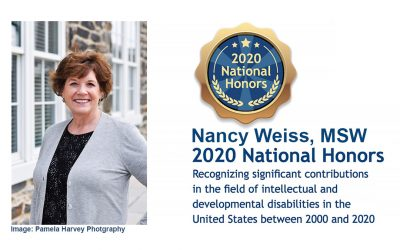 Board Member Nancy Weiss Honored by the National Historic Recognition Project